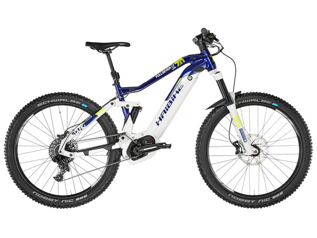 HAIBIKE SDURO FullSeven Life LT 7.0 Elcykel MTB Heldämpad Dam blå/vit